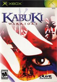 Box cover for Kabuki Warriors on the Microsoft Xbox.