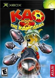 Box cover for Kao the Kangaroo Round 2 on the Microsoft Xbox.