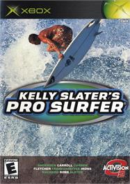 Box cover for Kelly Slater's Pro Surfer on the Microsoft Xbox.