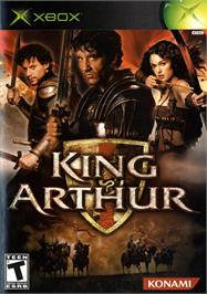 Box cover for King Arthur on the Microsoft Xbox.