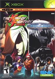Box cover for King of Fighters 2002/2003 on the Microsoft Xbox.