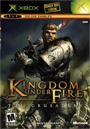 Box cover for Kingdom Under Fire: The Crusaders on the Microsoft Xbox.