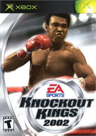 Box cover for Knockout Kings 2002 on the Microsoft Xbox.