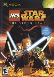 Box cover for LEGO Star Wars: The Video Game on the Microsoft Xbox.