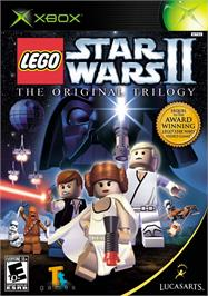 Box cover for LEGO Star Wars 2: The Original Trilogy on the Microsoft Xbox.