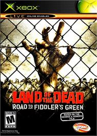 Box cover for Land of the Dead: Road to Fiddler's Green on the Microsoft Xbox.