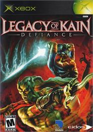 Box cover for Legacy of Kain: Defiance on the Microsoft Xbox.