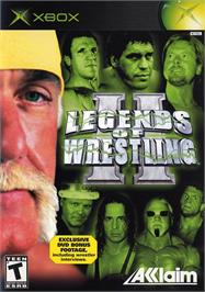 Box cover for Legends of Wrestling 2 on the Microsoft Xbox.