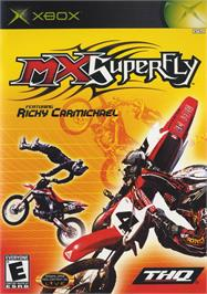 Box cover for MX Superfly Featuring Ricky Carmichael on the Microsoft Xbox.