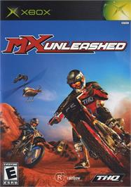 Box cover for MX Unleashed on the Microsoft Xbox.
