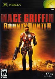 Box cover for Mace Griffin: Bounty Hunter on the Microsoft Xbox.