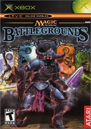 Box cover for Magic the Gathering - Battlegrounds on the Microsoft Xbox.