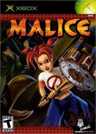 Box cover for Malice on the Microsoft Xbox.