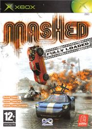Box cover for Mashed: Drive to Survive on the Microsoft Xbox.