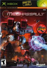 Box cover for MechAssault on the Microsoft Xbox.
