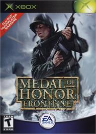 Box cover for Medal of Honor: Frontline on the Microsoft Xbox.