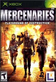 Box cover for Mercenaries: Playground of Destruction on the Microsoft Xbox.