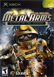 Box cover for Metal Arms: Glitch in the System on the Microsoft Xbox.