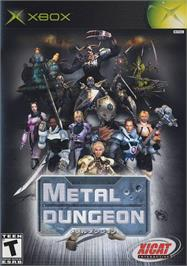 Box cover for Metal Dungeon on the Microsoft Xbox.
