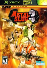Box cover for Metal Slug 3 on the Microsoft Xbox.