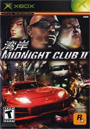 Box cover for Midnight Club 2 on the Microsoft Xbox.