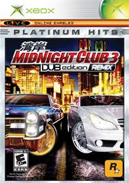 Box cover for Midnight Club 3: DUB Edition Remix on the Microsoft Xbox.
