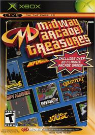 Box cover for Midway Arcade Treasures on the Microsoft Xbox.