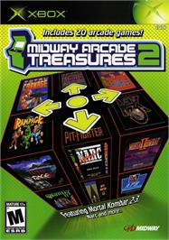 Box cover for Midway Arcade Treasures 2 on the Microsoft Xbox.