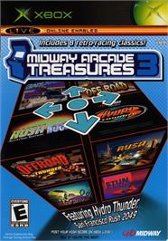 Box cover for Midway Arcade Treasures 3 on the Microsoft Xbox.