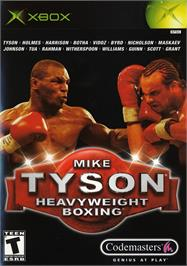 Box cover for Mike Tyson Heavyweight Boxing on the Microsoft Xbox.