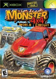 Box cover for Monster 4x4: World Circuit on the Microsoft Xbox.