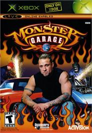 Box cover for Monster Garage on the Microsoft Xbox.