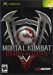 Box cover for Mortal Kombat: Deadly Alliance on the Microsoft Xbox.
