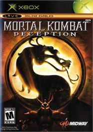 Box cover for Mortal Kombat: Deception on the Microsoft Xbox.