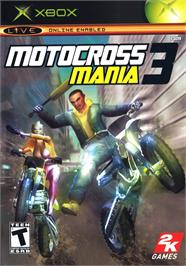 Box cover for Motocross Mania 3 on the Microsoft Xbox.