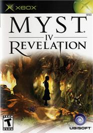 Box cover for Myst IV: Revelation on the Microsoft Xbox.