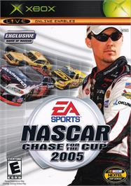 Box cover for NASCAR 2005: Chase for the Cup on the Microsoft Xbox.