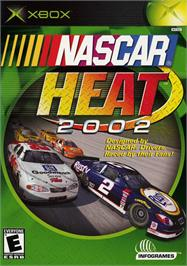 Box cover for NASCAR Heat 2002 on the Microsoft Xbox.