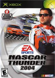 Box cover for NASCAR Thunder 2004 on the Microsoft Xbox.
