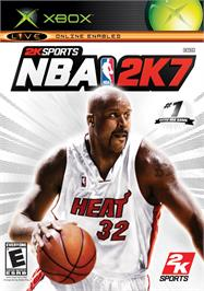 Box cover for NBA 2K7 on the Microsoft Xbox.