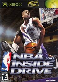 Box cover for NBA Inside Drive 2002 on the Microsoft Xbox.