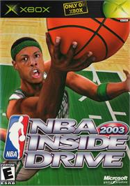 Box cover for NBA Inside Drive 2003 on the Microsoft Xbox.