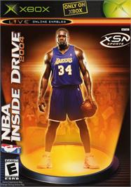 Box cover for NBA Inside Drive 2004 on the Microsoft Xbox.