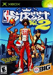 Box cover for NBA Street Vol. 2 on the Microsoft Xbox.