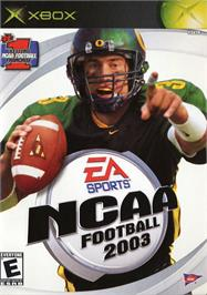 Box cover for NCAA Football 2003 on the Microsoft Xbox.