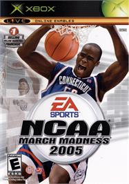 Box cover for NCAA March Madness 2005 on the Microsoft Xbox.