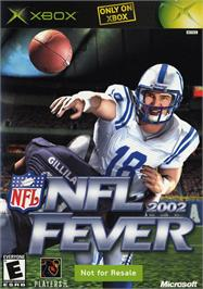 Box cover for NFL Fever 2002 on the Microsoft Xbox.