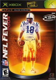 Box cover for NFL Fever 2004 on the Microsoft Xbox.