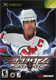 Box cover for NHL Hitz 20-02 on the Microsoft Xbox.