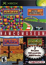 Box cover for Namco Museum on the Microsoft Xbox.